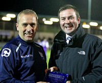 Tony Burman, Manager of the Month