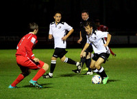 Dartford U18 v Chipstead FC in the Youth FA Cup First Qualifying