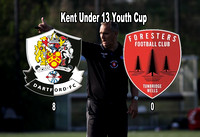 Dartford U13 v Tunbridge Wells Forresters
