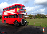 Not the team coach but a 1 947 bus for a party group.