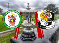 Burgess Hill Town v Dartford FA Cup 3rd Qualifying Round