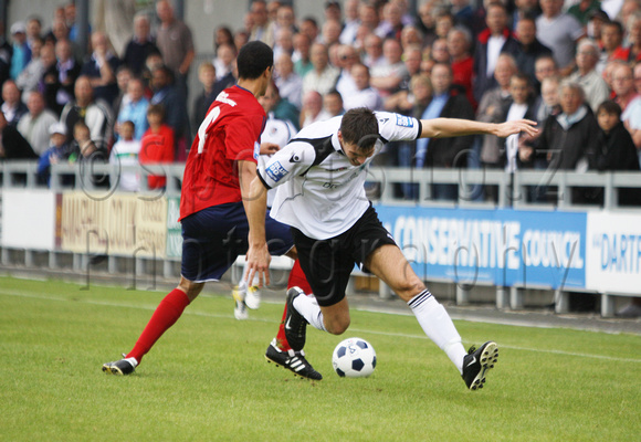 Dartford FC vs Hampton and Richmond Borough, 20 August 2011, 2:1