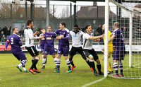 Tom Bonner goal. Dartford v East Thurrock