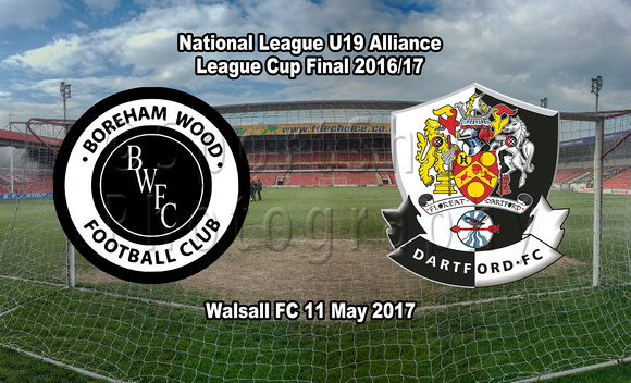 National League U19 Alliance Cup Final 2016/17
