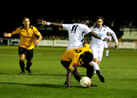 Cray Wanderers v Dartford, Kent Reliance Senior Cup Round 1