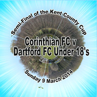 Corinthian v Dartford U18 Semi-Final